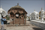 1984 Sikh Genocide Damage to Akal Takht caused by the Indian Army