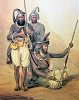 Sikh art of Akali Sikhs