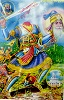 Sikh art of Baba Deep Singh's last battle