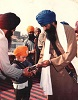 Every boy's dream - with Sikh leader - Baba Jarnail Singh Bhindranwale