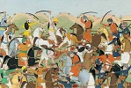 Sikh Battle scene picture - valued at $10000