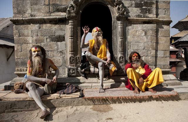 Sadhus and Mahants