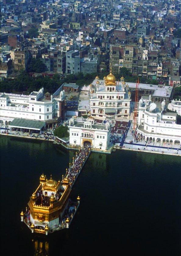 Akal Takht Sahib and Harmandir Sahib; Miri and Piri