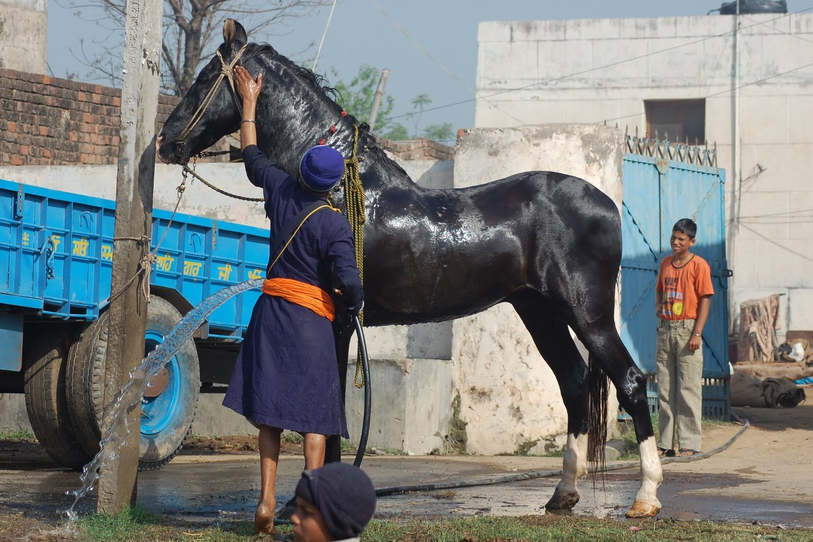 Hukam number 30 - Learn and train in the skills of weaponry and horseriding