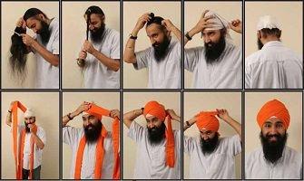 Image result for sikh hair